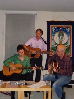 Players at our folk music evening