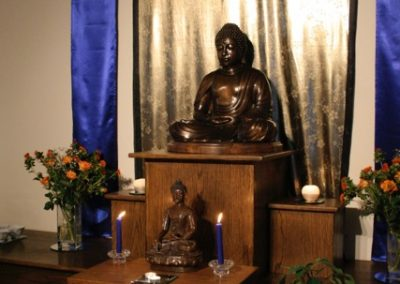 100 year Shrine at our centre